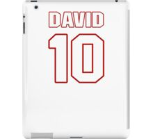 NFL Player David Reed ten 10 iPad Case/Skin
