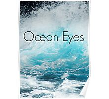 Ocean Eyes Pocket Poster
