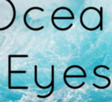 Ocean Eyes Pocket Sticker