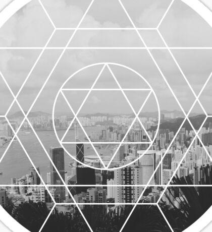 Geometric Shape - City  Sticker