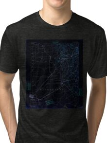 USGS TOPO Map California CA Sacramento 299588 1891 125000 geo Inverted Tri-blend T-Shirt