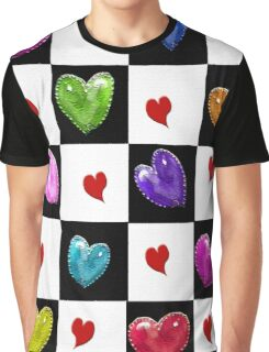 the Many Colors of Love Graphic T-Shirt
