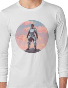 Knight Sky (Transparent) Long Sleeve T-Shirt