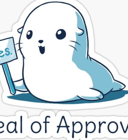 Seal Of Approval New Design Sticker