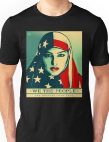 We the People are Greater than Fear Tshirts Unisex T-Shirt