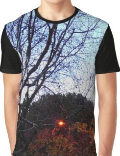 Street lights early morning Graphic T-Shirt