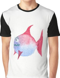 Dicker Fisch Graphic T-Shirt