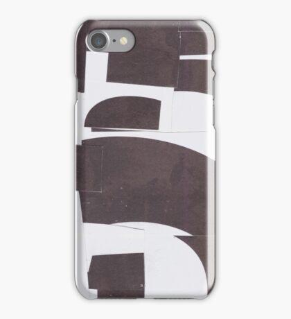 bw big iPhone Case/Skin