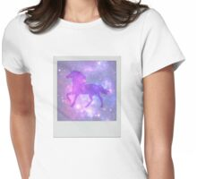 Universe Unicorn Womens Fitted T-Shirt