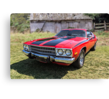 1973 Plymouth Roadrunner Canvas Print