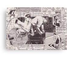five guys Canvas Print