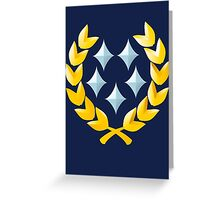 Halo General Rank Greeting Card