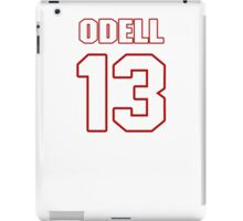 NFL Player Odell Beckham thirteen 13 iPad Case/Skin
