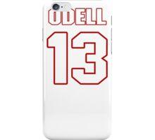 NFL Player Odell Beckham thirteen 13 iPhone Case/Skin