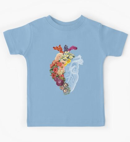 Flower Heart Spring Kids Clothes