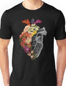 Flower Heart Spring Unisex T-Shirt