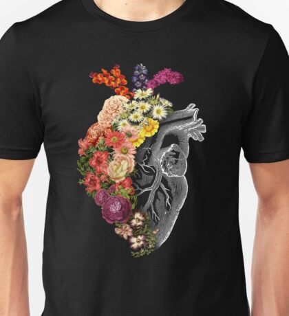 Flower Heart Spring Unisex T-Shirt