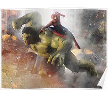 Marvel Team-Up: Hulk & Spider Man Poster