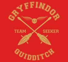 Quidditch - Gryffindor - Team Seeker by Divum
