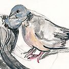 Dove Love 1 by WoolleyWorld
