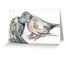 Dove Love 1 Greeting Card