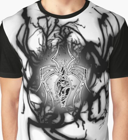 White Venom Symbiote Graphic T-Shirt
