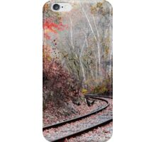 Autumn Tracks iPhone Case/Skin
