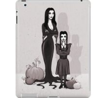 Morticia and Wednesday iPad Case/Skin