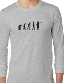 Evolution of Graffiti / Streetart / Bombing Long Sleeve T-Shirt