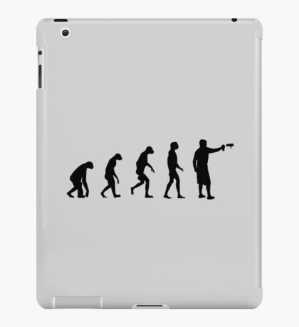 Evolution of Graffiti / Streetart / Bombing iPad Case/Skin