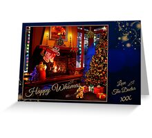 Chestnuts Roasting on The Doctor's Fire... (Card) Greeting Card