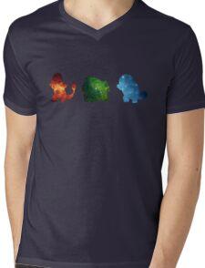 Galaxy Kanto starters Mens V-Neck T-Shirt