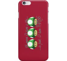 Super Mario - On Getting a Life iPhone Case/Skin