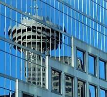 Needle Reflection by phil decocco