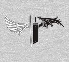 Final Fantasy VII - One Winged Angels One Piece - Short Sleeve