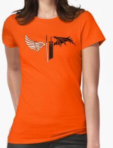 Final Fantasy VII - One Winged Angels Womens Fitted T-Shirt