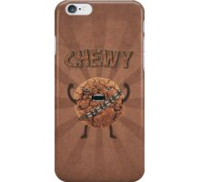 Chewy Chocolate Cookie Wookiee iPhone Case/Skin