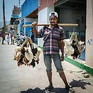 Poultry Vendor by Werner Padarin