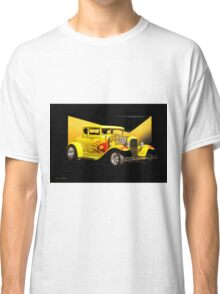 1930 Ford Model A Coupe 'Flames and Fenders' Classic T-Shirt