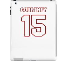 NFL Player Courtney Roby fifteen 15 iPad Case/Skin