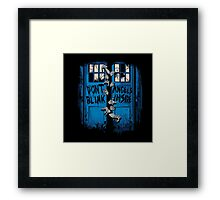 The walking Angels Framed Print
