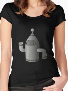 Glitch Inhabitants npc maintenance bot Women's Fitted Scoop T-Shirt