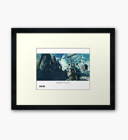 Ships of the Fleet - Refuge Framed Print