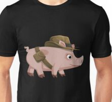 Glitch Inhabitants npc piggy explorer ilmenskie jones Unisex T-Shirt