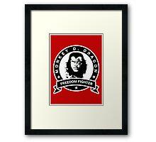 Monkey D. Dragon X Che Framed Print