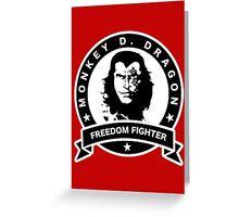 Monkey D. Dragon X Che Greeting Card