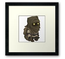 Glitch Inhabitants npc rare item vendor Framed Print