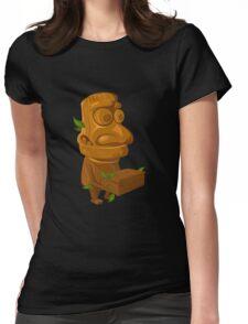 Glitch Inhabitants npc rube Womens Fitted T-Shirt