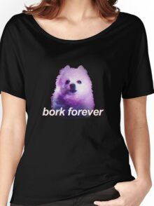bork forever, space pup Women's Relaxed Fit T-Shirt