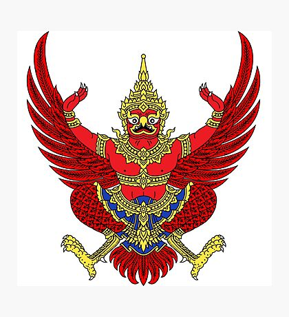 Thailand Coat of Arms Photographic Print